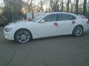 обслуживание свадеб,  деловых встреч (свадьба, торжество) BMW 7 Long