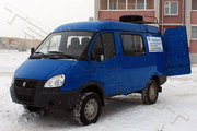 Станция исследований скважин на базе автомобиля УАЗ 3962 «Буханка»