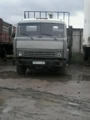 Камаз 5410 тягач с прицепом МАЗ 12м